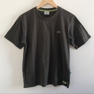 Lacoste Olive Green T-Shirt Size Men's XS